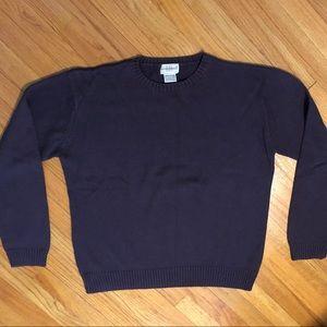 Men's Purple Sweater